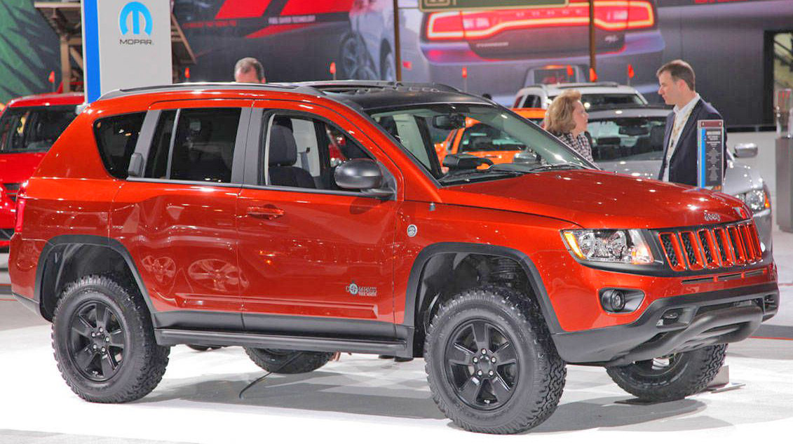 """Lifted Jeep Renegade >> Jeep Compass Lift Kit: 2.125"""" Jeep Compass Lift Kit, all ..."""