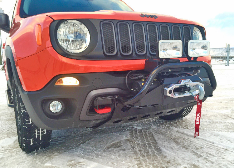 Jeep Renegade Winch Mount Bumper And Winch Mount For Jeep