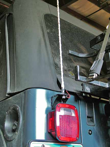 Mounting A Cb Radio 18616 likewise Haarp Weather Modifying Earthquake likewise Rugged Ridge 13551 together with 1997 Jeep TJ CB Mount besides T88tj Palau Is. on tj radio antenna