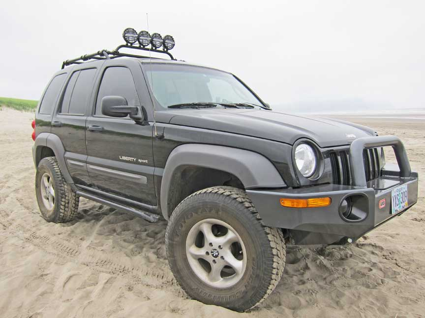 Jeep Liberty Roof Rack