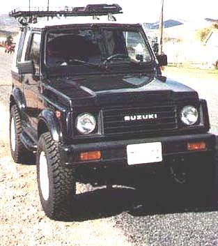 Suzuki Samurai Old Man Emu Kit