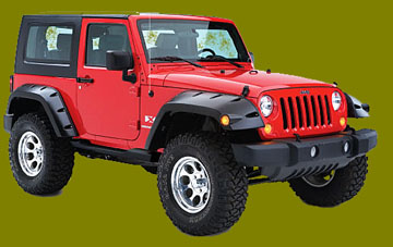 Jeep Accessories Fender Flares Compressor Lights
