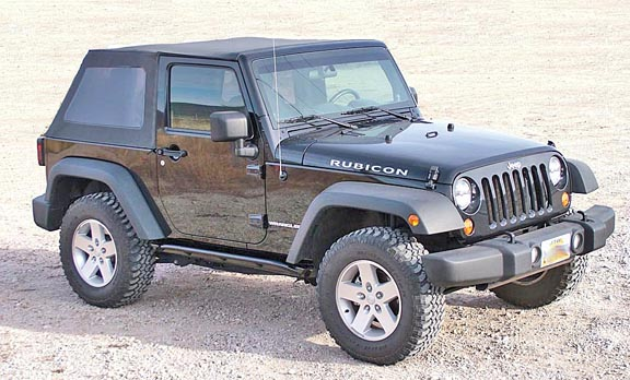 Jeep Rubicon Rock Sliders