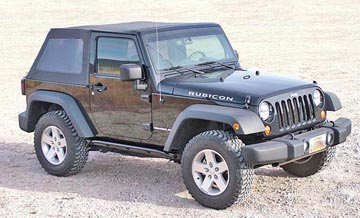 JK Wrangler rock sliders