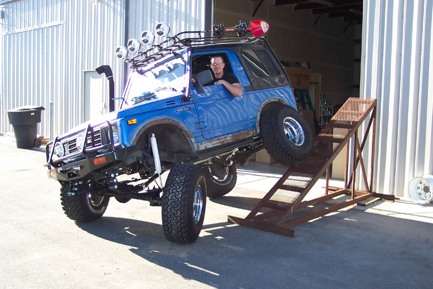Samurai YJ wrangler: YJ Spring Conversion for Samurai