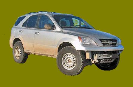 Kia Sorrento lifts suspension accessories
