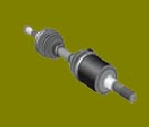 Jeep Liberty Axle