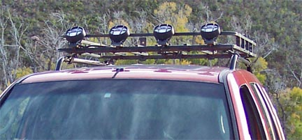Jeep Liberty Roof Rails