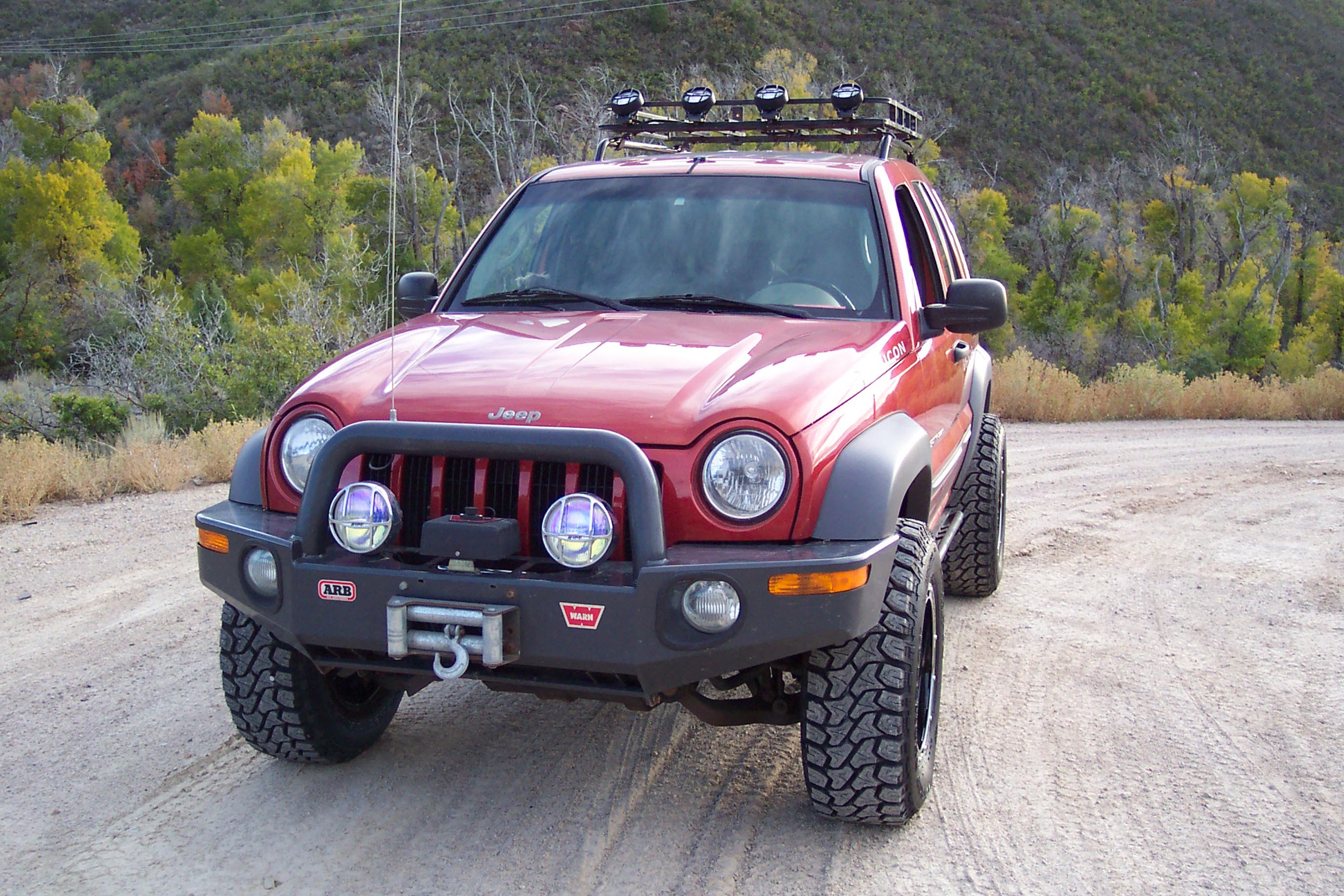 Jeep Liberty Roof Rails 02 12 Jeep Liberty Roof Rails
