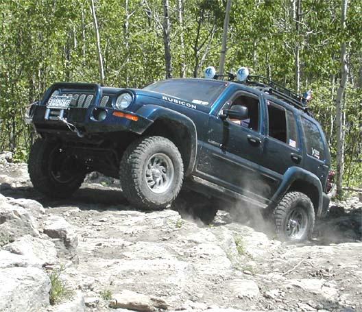 Jeep Cherokee Off Road >> Jeep Liberty Lift Kit: 2002-07 Jeep Liberty Lift Kit