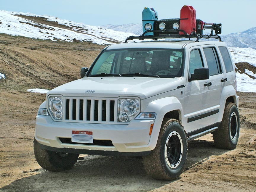 2008 Jeep Liberty Lifted. Jeep Liberty KK lift kit for