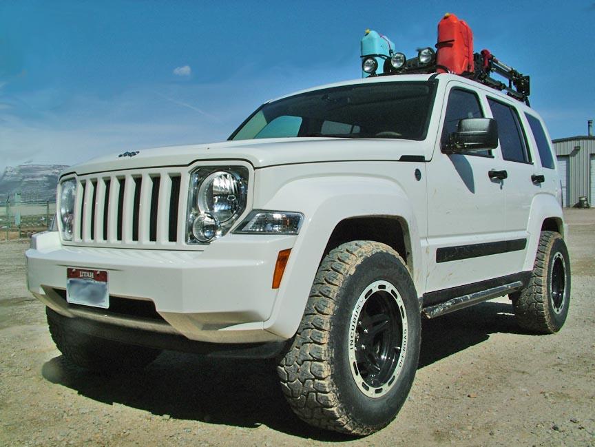 Jeep Liberty Lift Kit: 08+ Jeep Liberty Lift Kit