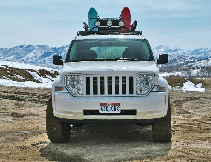Jeep Liberty Lift Kit: 08+ Jeep Liberty Lift KitRocky Road Outfitters