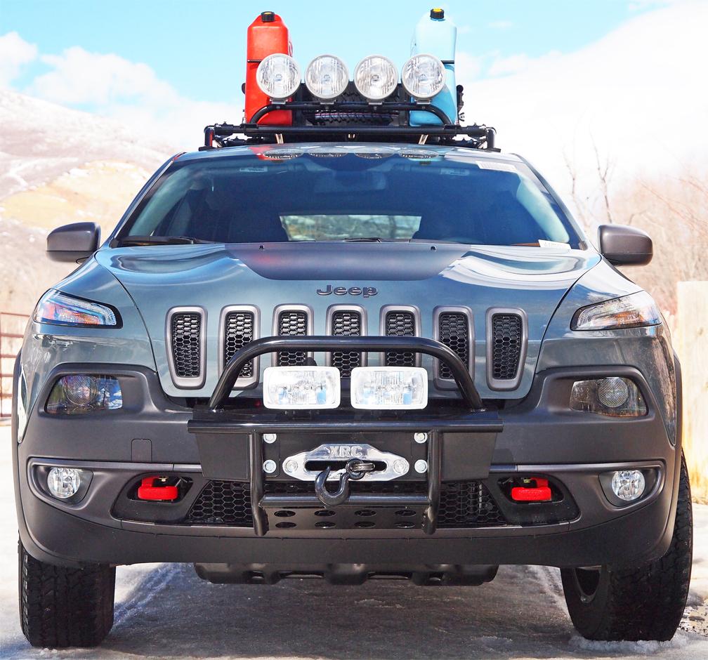 Jeep Grand Cherokee Off Road Bumper >> Jeep Cherokee 2014 and newer bumper kit and winch kits: Cherokee KL 2014-2015, bumper kits ...