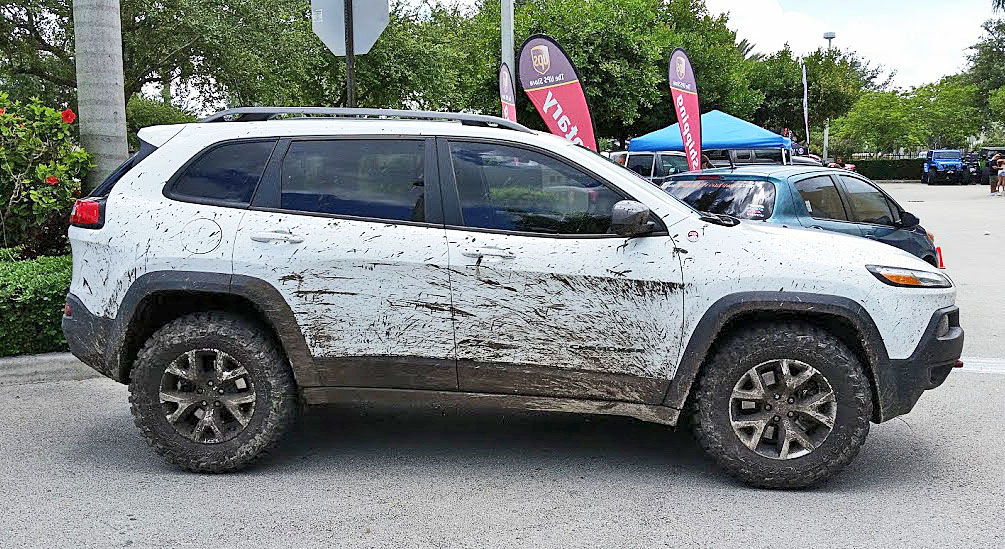 2014+ Jeep Cherokee KL offroad accessories, 2015