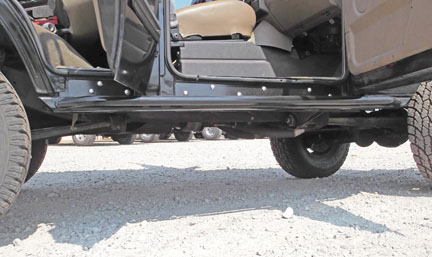 land rover discovery rock sliders