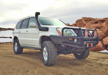 Lexus GX470 rock slider