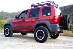 Jeep Liberty lift kit