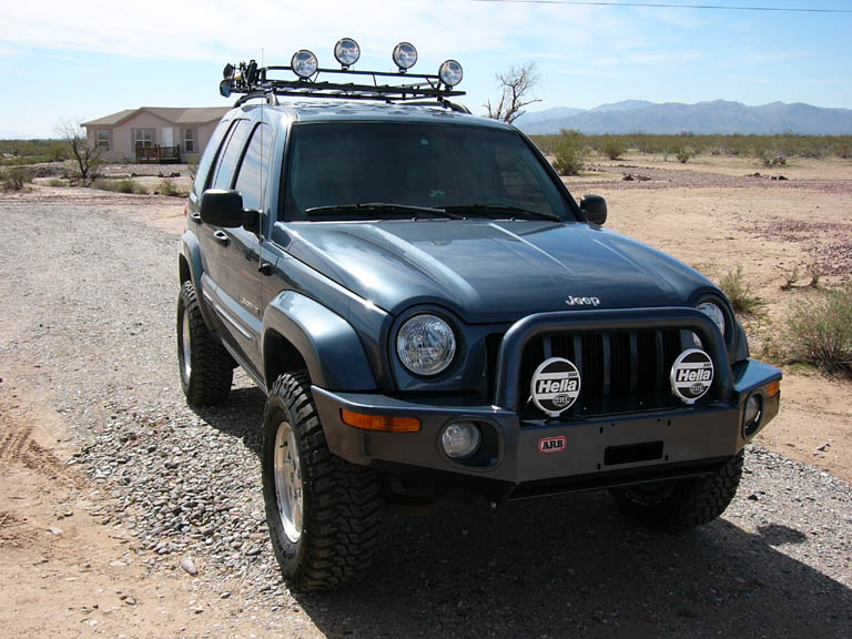 Great Jeep Liberty Roof Rack