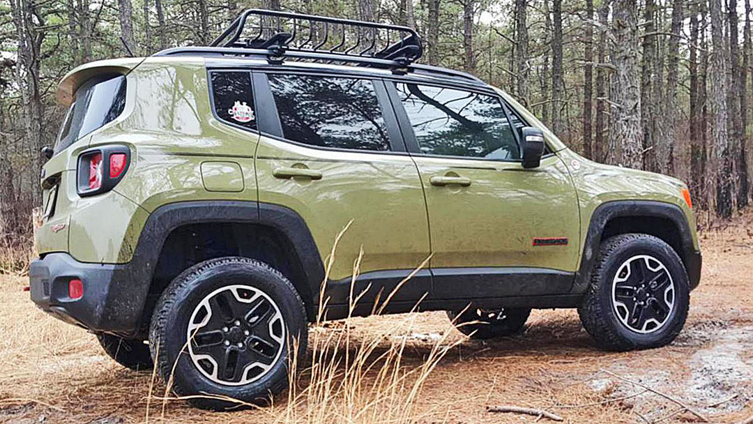 "Jeep Trailhawk Lifted >> Jeep Renegade Lift Kit: 1.5"" Lift Kit for Jeep Renegade"