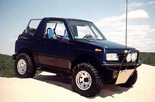 "suzuki sidekick / geo tracker 4.5"" lift kit, 1989-98"