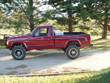 Jeep Comanche Lift Kit