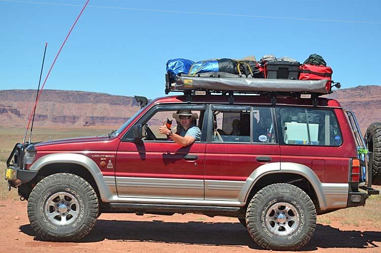 Montero Roof Rack Mitsubishi Montero Roof Rack