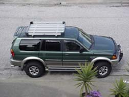 mitsubishi montero lift kit