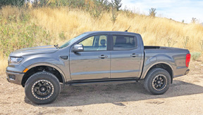 Ford ranger rock sliders