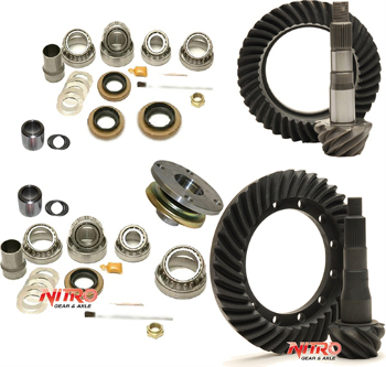Jeep Commander gear kit