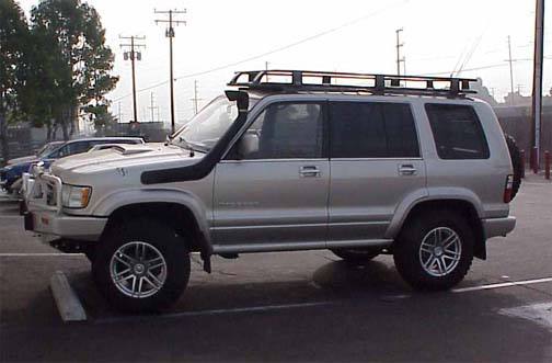 isuzu trooper lift kit