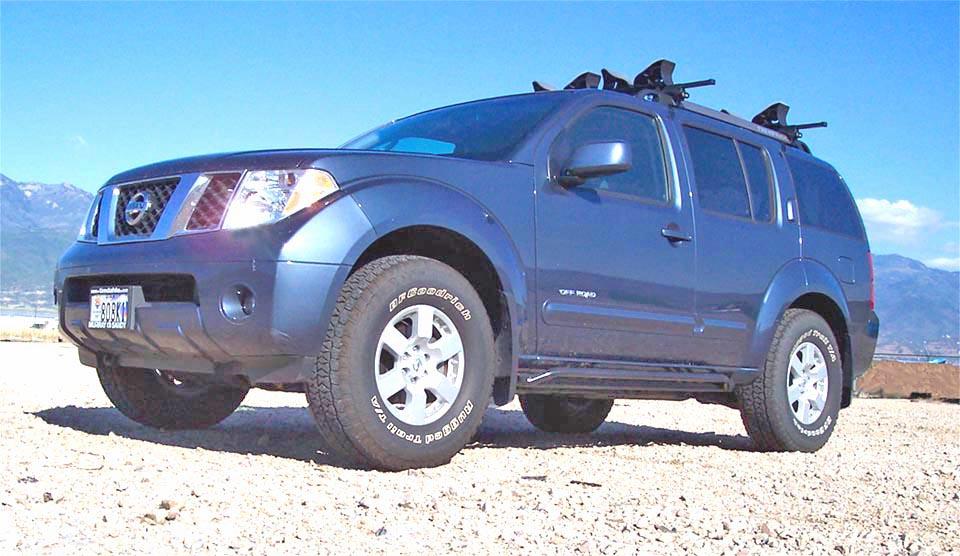 Pathfinder Rock Sliders: Nissan Pathfinder Rock Sliders