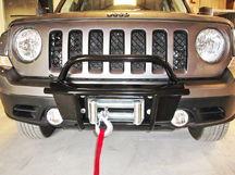 Jeep Patriot offroad bumper