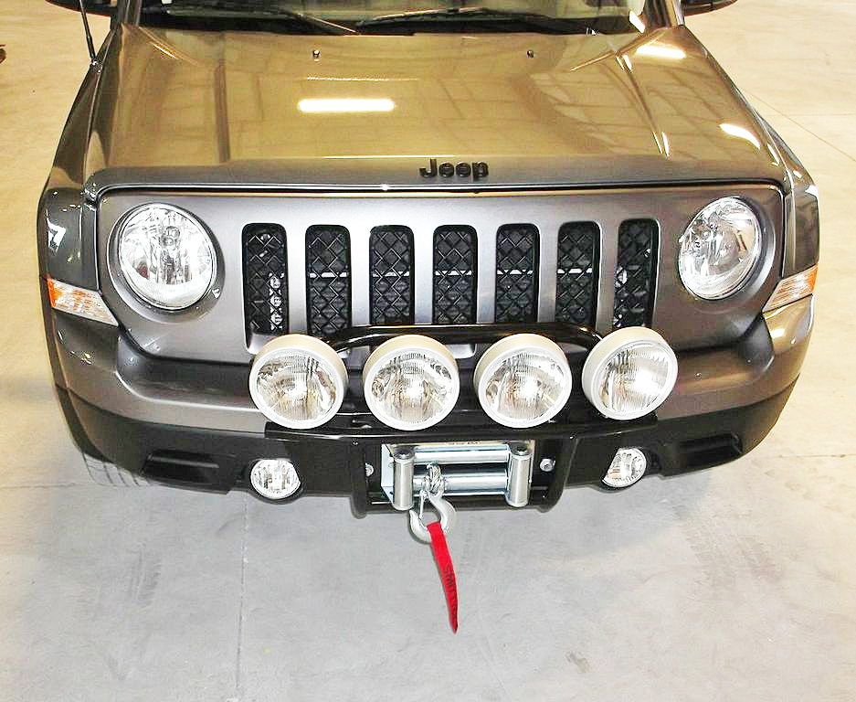 jeep patriot bumper winch mount and bumpers for jeep patriot. Black Bedroom Furniture Sets. Home Design Ideas