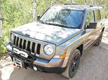 Jeep Patriot Offroad Bumper and light kit