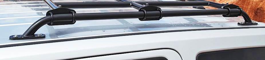 Heavy Duty Roof Rails For Jeep Patriot (STEEL!)