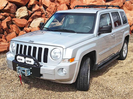 Jeep Patriot winch bumper
