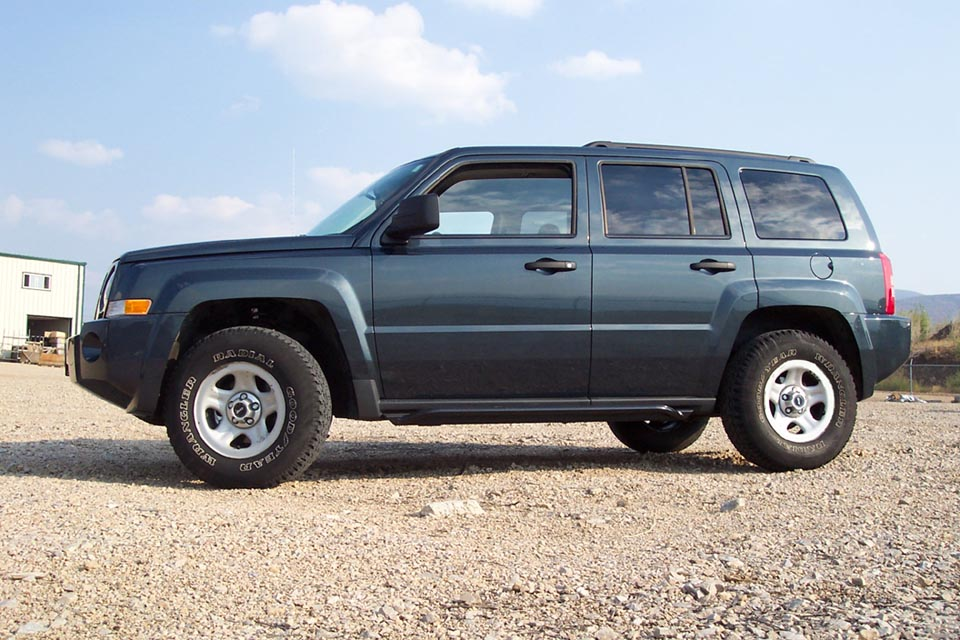 Jeep Patriot Rockrails / Rock Sliders / Rocker panel protection / Skidplates