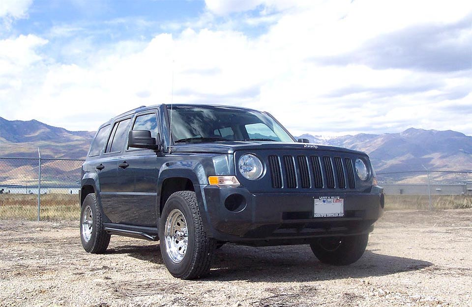 Jeep Patriot Review and Test Drive Asagidaki linkte lift kit + compass 371