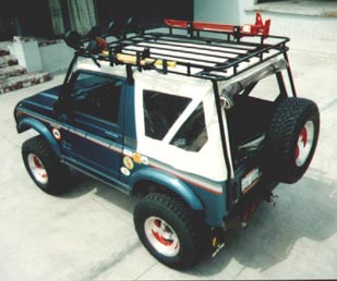 Samurai Roof Rack