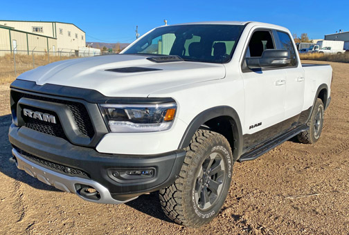 Dodge ram rock slider