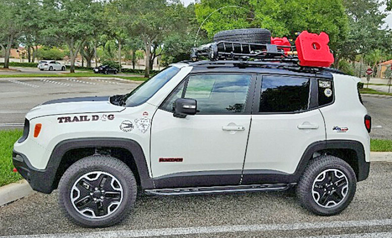 Lifted Jeep Renegade