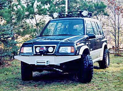tracker ome: sidekick/tracker old man emu suspensions (escudo and