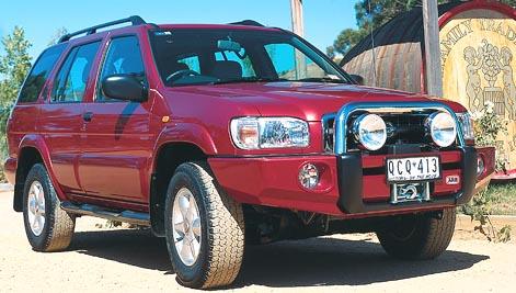 ARB Bull Bar: bumper and Warn winch