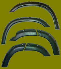Geo tracker fender flare kits