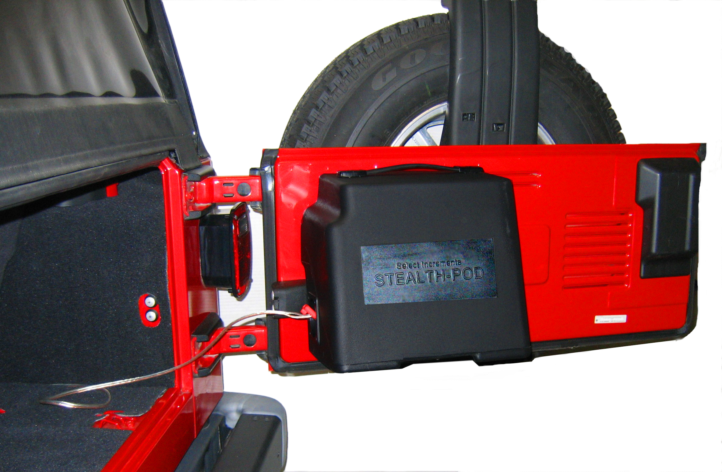 Jeep Speakers Stealth Pod Jeep Speaker System