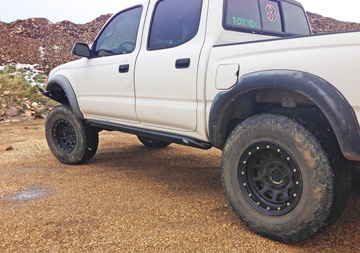Tacoma Double Cab Rock slider