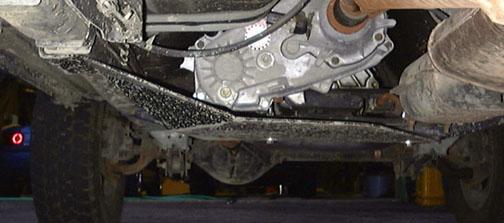 ... XJ Transfer Case Skid Plate