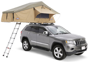 Jeep Patriot roof top tent