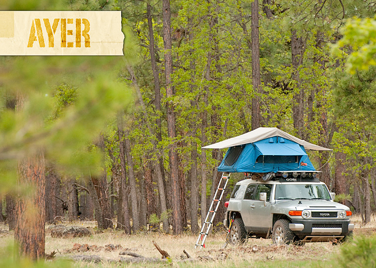 pretty nice dce18 5239d Roof Top Tents: Tepui Baja series AYER tent
